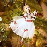 Kurt Adler 5-1/2-Inch Resin Clara Nutcracker Suite Ornament