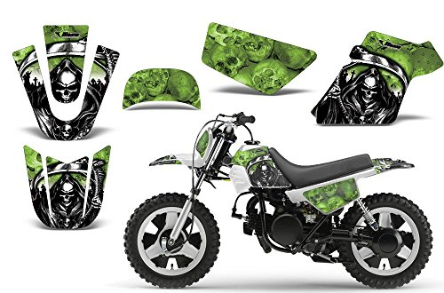 Reaper-AMRRACING MX Graphics decal kit fits Yamaha PW50 All years-Green