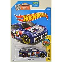 Hot Wheels 2016 Super Treasure Hunt Hw Art Cars - Boom Box [TH Logo with Real Riders Tires]