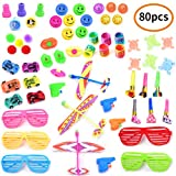 CIKIShield 80 PCS Small Gifts Trinket Boys and Girls Party Favors,Birthday Party, School Classroom...