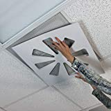 Adjustable Air Conditioning Vent Cover by Wooden Shoe Designs| Vent Damper, Control Office Air - Too Cold in The Office