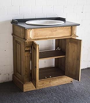 Waschtisch antik küche  Waschtisch antik braun im Landhausstil, Bad - Einzelwaschtisch mit ...