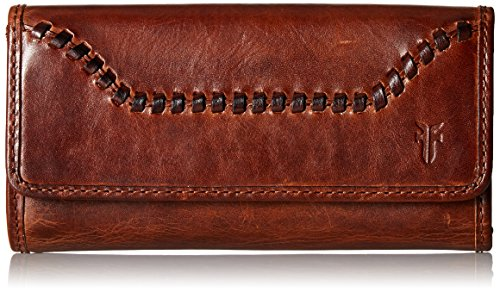 Melissa Whipstitch Wallet Wallet, COGNAC, One Size by FRYE