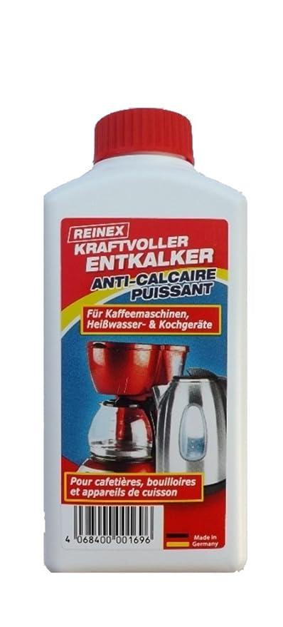 Top & Profundo, Marca – Descalcificador – Concentrado 1: 10 – Hervidor de Agua para cafeteras Baño Ducha Cal – del Alemán