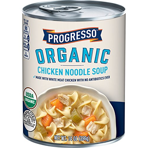 (Progresso Organic Chicken Noodle Soup, 14 oz)