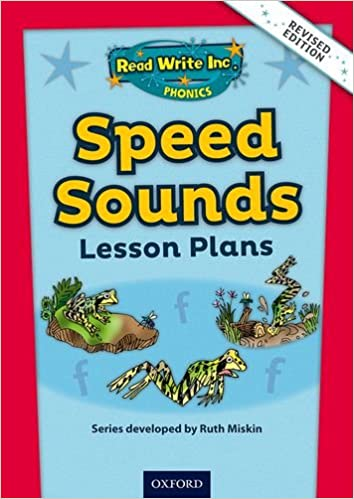 Read Write Inc Phonics Speed Sounds Lesson Plans Handbook Amazon