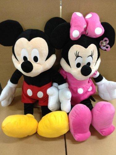 25' Plush (Disney Large Mickey & Minnie Mouse Plush Toy 25'' H)
