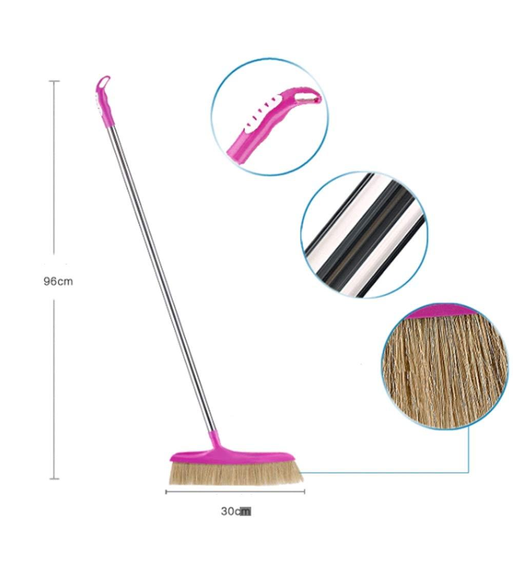 YUDEYU Verlängern Besen Besen Besen Haushalt Rostfreier Stahl Sauber Fußboden Haare Fegen Entstaubung Werkzeug (größe   96cm) B07M7ZYY3T Besen 453136