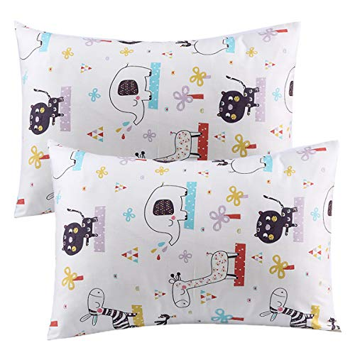 Modern Toddler Cot Bed - Kids Toddler Pillowcases UOMNY 2 Pack 100% Cotton Pillowslip Case 13 x 18