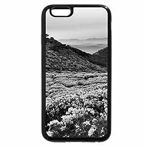 iPhone 6S Plus Case, iPhone 6 Plus Case (Black & White) - Beautiful scenery