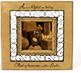 Comfort Candles Smile Hanging Mirror by Pavilion Hanger, 10 by 10-Inch