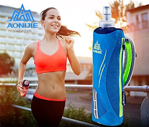 Aonijie Porte gourde gourde pliable course running pour trail 500/ml