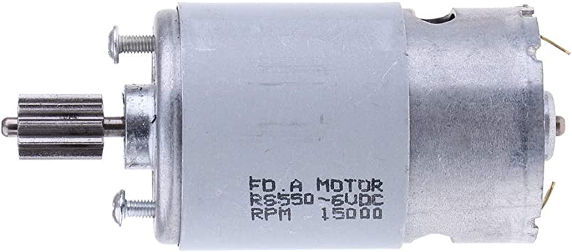 Hellery Gran Motor de Reemplazo con Caja de Cambios + Conector de ...