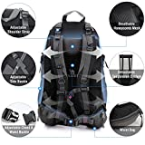 CAMEL CROWN 50L Waterproof Hiking Backpack Travel Daypack...