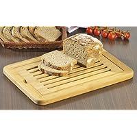 Esmeyer Lewis - Tagliere per pane LEWIS in legno di bambù, con vassoio raccoglibriciole estraibile, dimensioni: ca. 38 x 24,3 x 2,0 cm