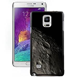 DIY and Fashionable Cell Phone Case Design with iOS 8 Moon Surface Close Up Galaxy Note 4 Wallpaper