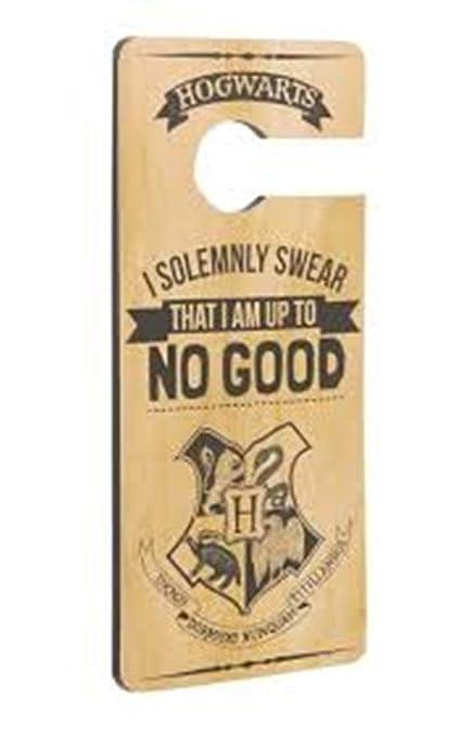 Harry Potter I solemnly swear colgador para puerta: Amazon ...