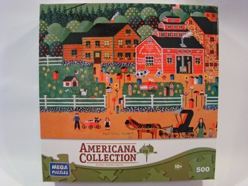 Americana Collection 500 Piece Jigsaw Puzzle: Home Tweet Home