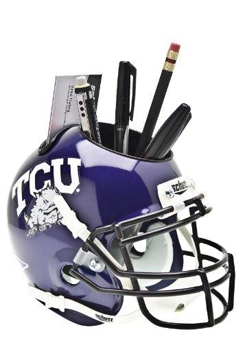 Schutt NCAA TCU Horned Frogs Helmet Desk Caddy by Schutt