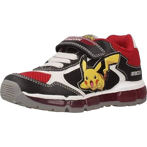 Geox sneaker jr boy shuttle luci j8294c 31 navy yellow