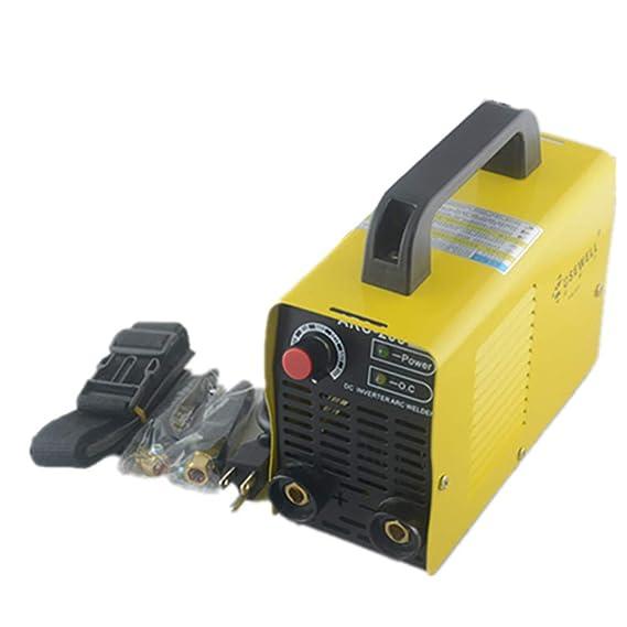 ARC-200 110V Mini Inverter DC Mini Welding Machine (Yellow-Arc 200 ...