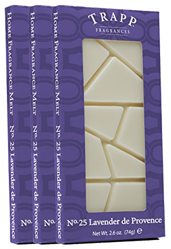 Trapp Home - Fragancia para derretir, Madera de sándalo, pachuli, Blanco, 2.6-Ounce (3-Pack), 1, 3