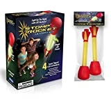 The Original Stomp Rocket Ultra LED with Ultra LED Refill Pack, 6 Rockets