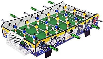 LKNJLL 子供フーズボール表6バーフーズボール表キッズパズルゲームの親子インタラクティブ玩具快適なEVAハンドルポータブルおよび耐久性のあるテーブルサッカー
