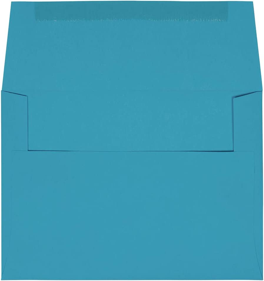 Teal Aqua A7 Envelopes 5-1//4 x 7-1//4 for 5 x 7 Greeting Cards Invitations Shower