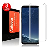 Galaxy S8 Screen Protector [3 Pack] Auideas Full Screen Coverage 3D PET Screen Protector Film Case Friendly for Samsung Galaxy S8