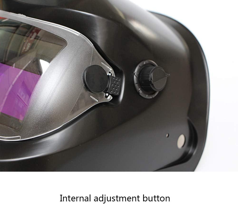 LAIABOR Solar Automatik Schwei/ßhelm Automatische Verdunkelung Welding Helmet Schwei/ßmaske F/ür Alle G/ängigen Schwei/ßtechniken Schwei/ßschild Mit Kopfband