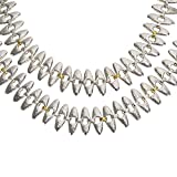Loved Luxuries Gurhan Sunflower Necklace in Sterling Silver