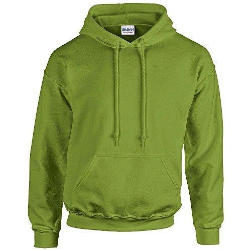 Unbekannt Gildan - Kapuzen Sweatshirt 'Heavy Blend'-Felpa Uomo-Donna Uomo  Opaco   kiwi 56