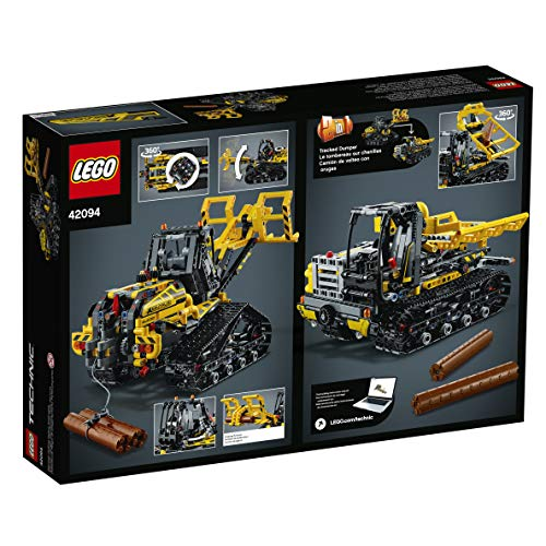 51qiL%2BhDVDL - LEGO Technic Tracked Loader 42094 Building Kit , New 2019 (827 Piece)