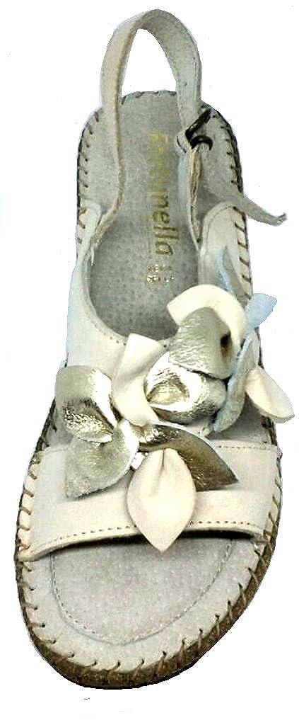 LA COCCINELLA SANDALI, ciabatte aperte donna LINEA LINEA LINEA CONFORT art.11111 pelle BEIGE- c92191