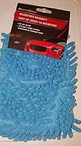 Drivers Choice Microfiber Washmitt 9in x 5in;blue