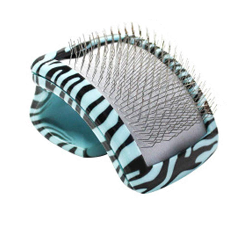 Pet Deshedding Brush, Professional Grooming Tool, Effectively Reduces Shedding by Up to 95% for Short Hair and Long Hair,for Small Medium and Large Pets Dogs Cats,Blue