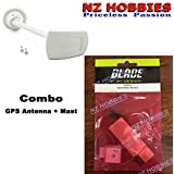 (Ship from USA) Combo: Blade GPS Antenna And Mast : Blade 350 QX3 (BLH8102+BLH8103) Complete Set