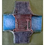 novus design - River And Road Crossing Finished And Colored 15mm 6in x 7in Novus Design Studio
