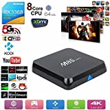 J-DEAL® Full Loaded M8S Pro Octa-core 4K TV BOX Cortex-A53 64bit 4K Kodi BOX Google Streaming Media Player Android 5.1 2GB/8GB Iptv Set Top Box Dual Band Wi-Fi 2.4GHz/5GHz Bluetooth V4.0 H.264