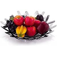 SU@DA Nido/tazones/creativo/tazones/moda/regalo tazones de fuente inoxidable Frutero acero