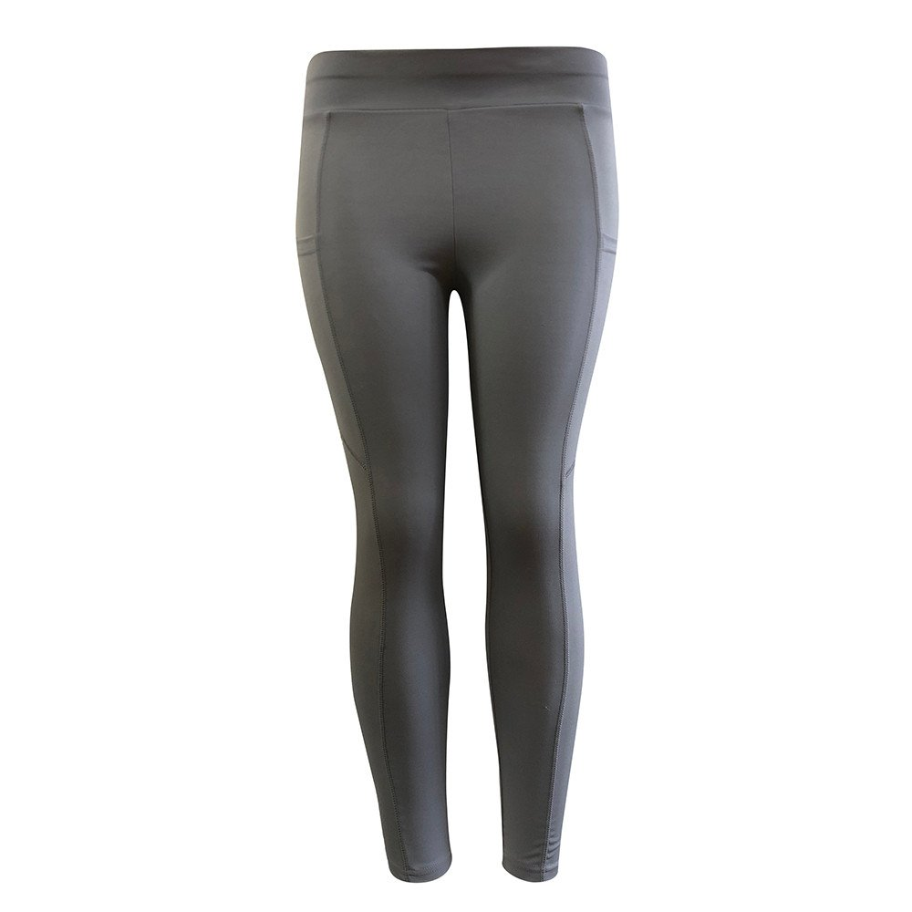 Pants Clearance,Women's Solid Workout Leggings Fitness Sports Gym Running Yoga Athletic Pants