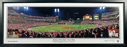 St. Louis Cardinals 2011 World Series Game 6 Panoramic Photograph ()