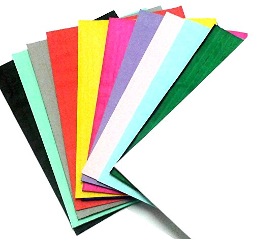 (12-Pack Honeycomb Craft Pads, Assorted Colors (7 X 9.5 Inches) (Mini Quarter Inch Glue Line))