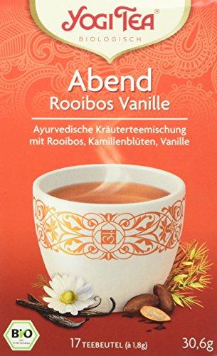 YogiTee Abendtee Rooibos Vanille (1 x 31 g)