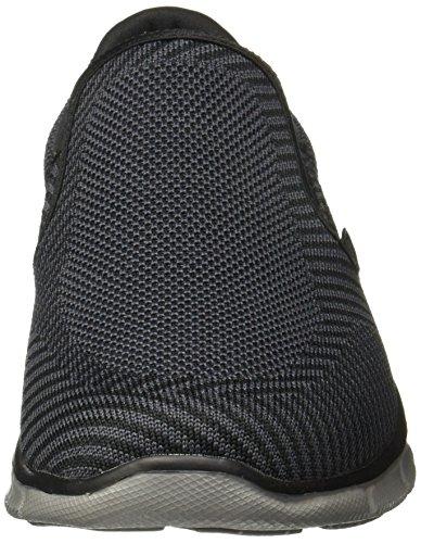 Skechers Heren Equalizer - Okwara Casual Schoen Zwart / Charcoal