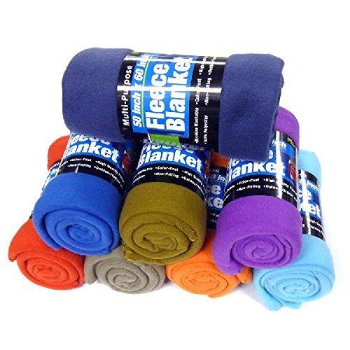 Fleece Throw Blanket - 50 Inch Children's Blanket -