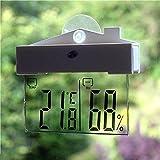 Best Garden Tools Hot Worldwide Digital Transparent Display Thermometer Hydrometer Indoor Outdoor Station New