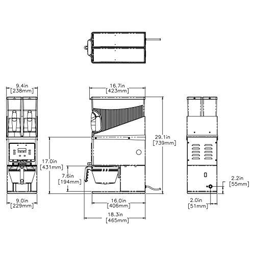 BUNN 35600.0020 Multi-Hopper Coffee Grinder & Storage System, Black/Stainless by BUNN (Image #1)
