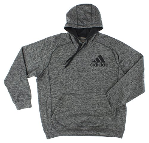 Adidas Mens Team Issue Pullover Hoodie Dark Grey S